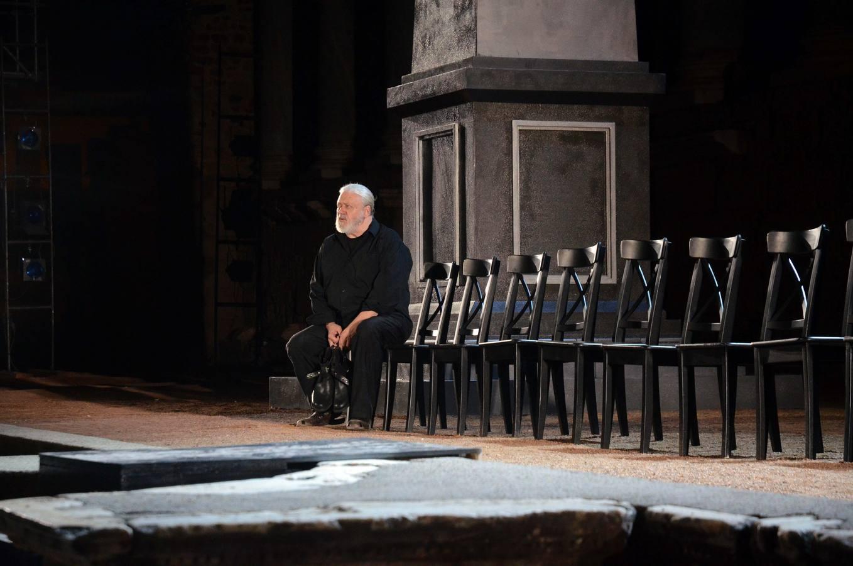 Representación de 'Julio César' en el Festival de Teatro de Mérida