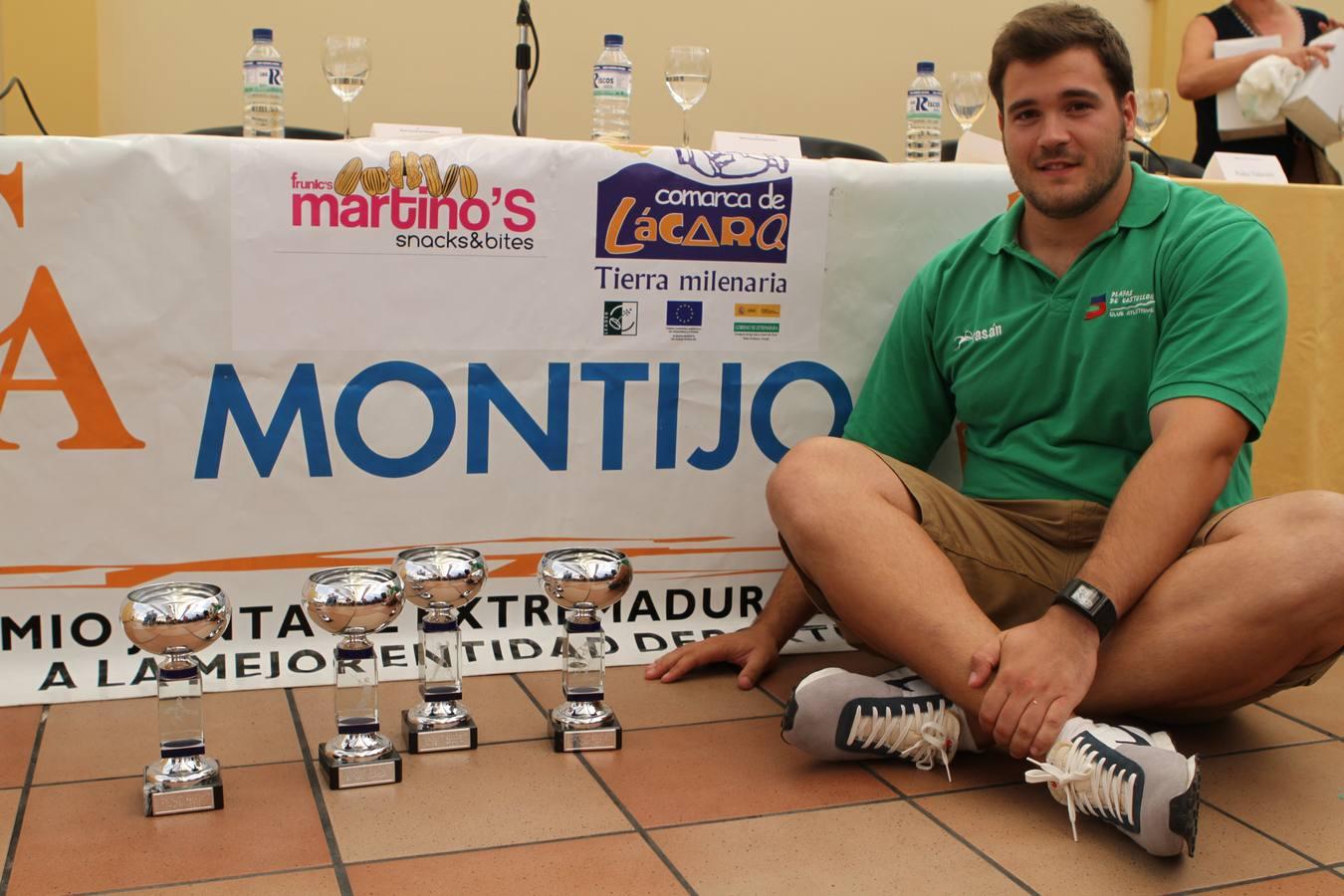 Trofeo de lanzamientos en Montijo
