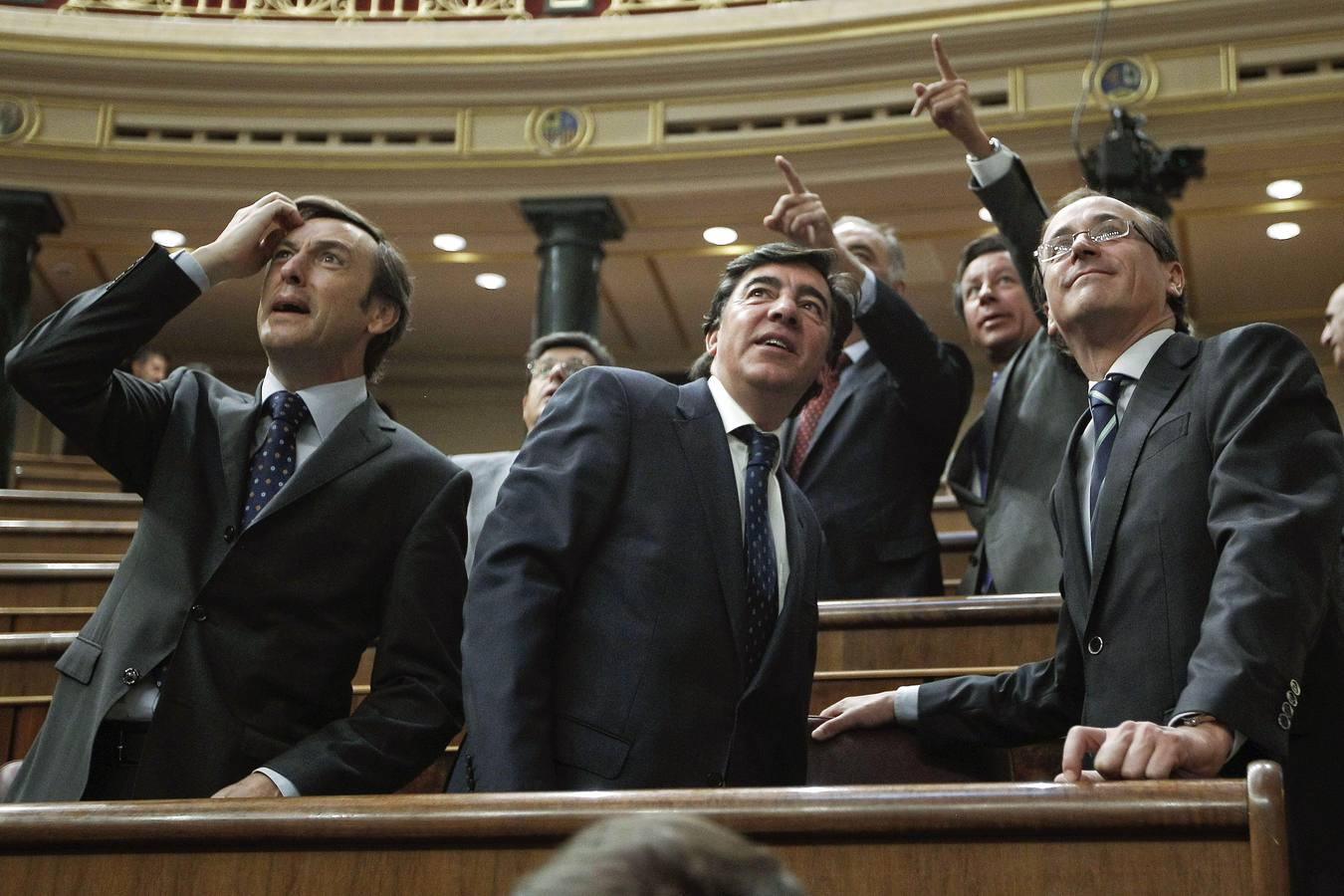 Goteras en el Congreso de los Diputados