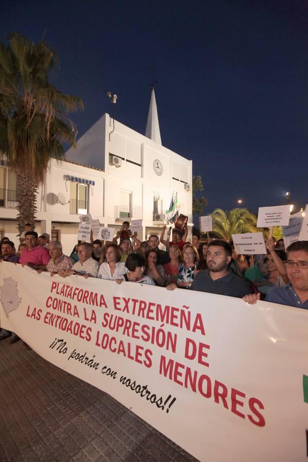 Valdesalor organiza una marcha contra la reforma de las entidades locales