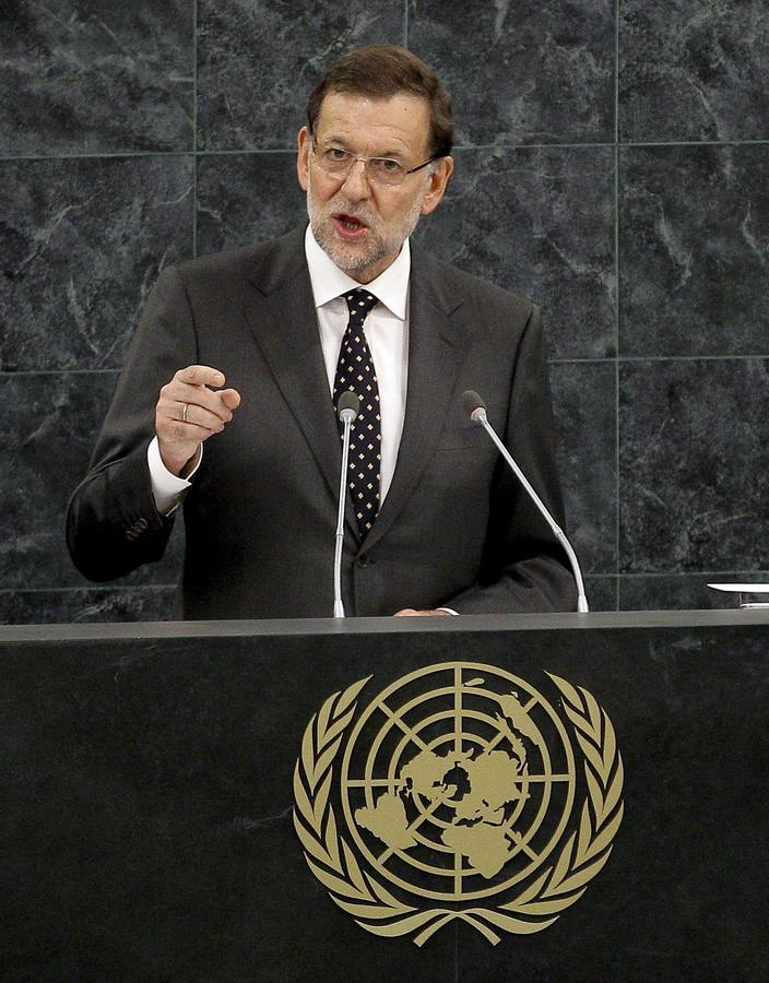 Rajoy interviene en la Asamblea General de la ONU