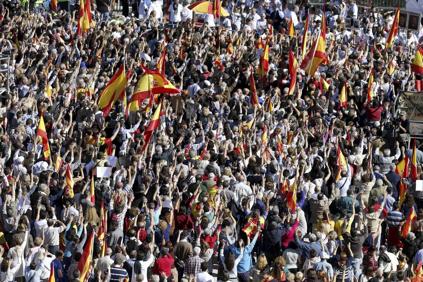Las víctimas del terrorismo unen sus voces contra «la injusticia» de Estrasburgo