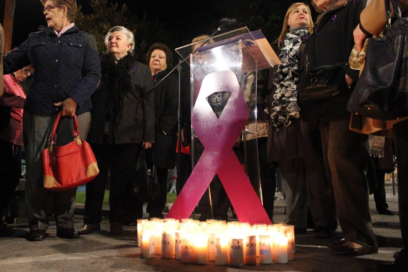 Actos en Extremadura en el Día para la Eliminación de la Violencia contra la Mujer.