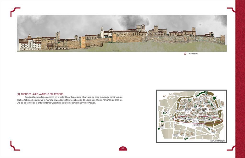 Arquitectura histórica de Cáceres a través de sus alzados