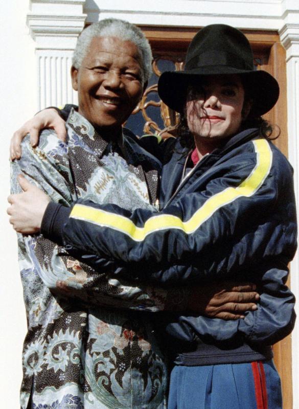 Mandela, inspiración de celebridades