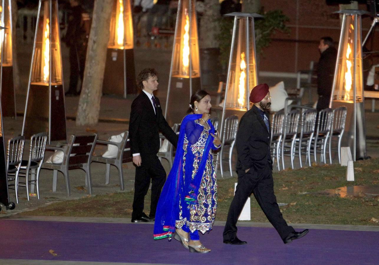 Exotismo y lujo en la boda de los Mittal