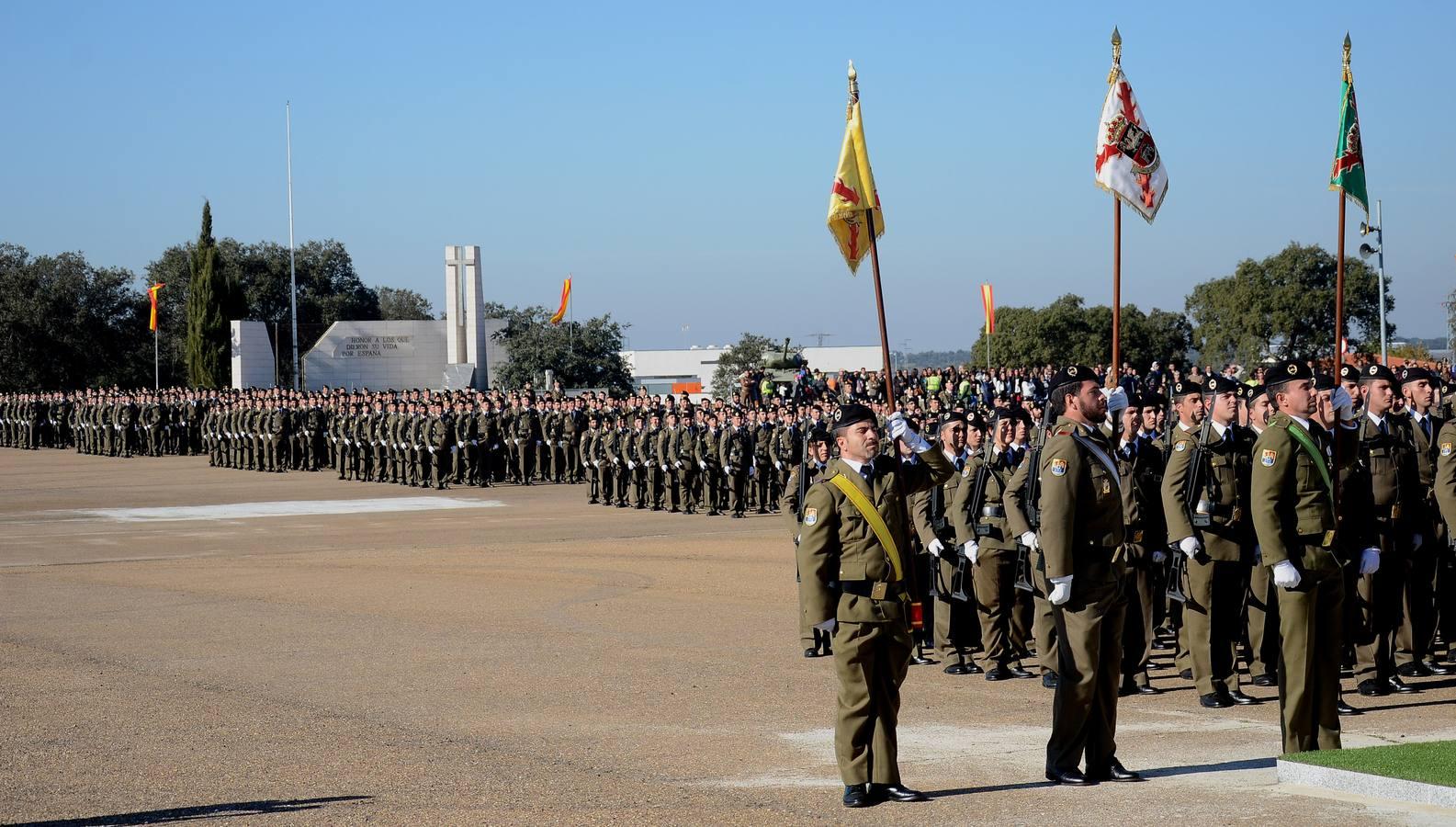 La Base General Menacho conmemora la patrona de la infantería