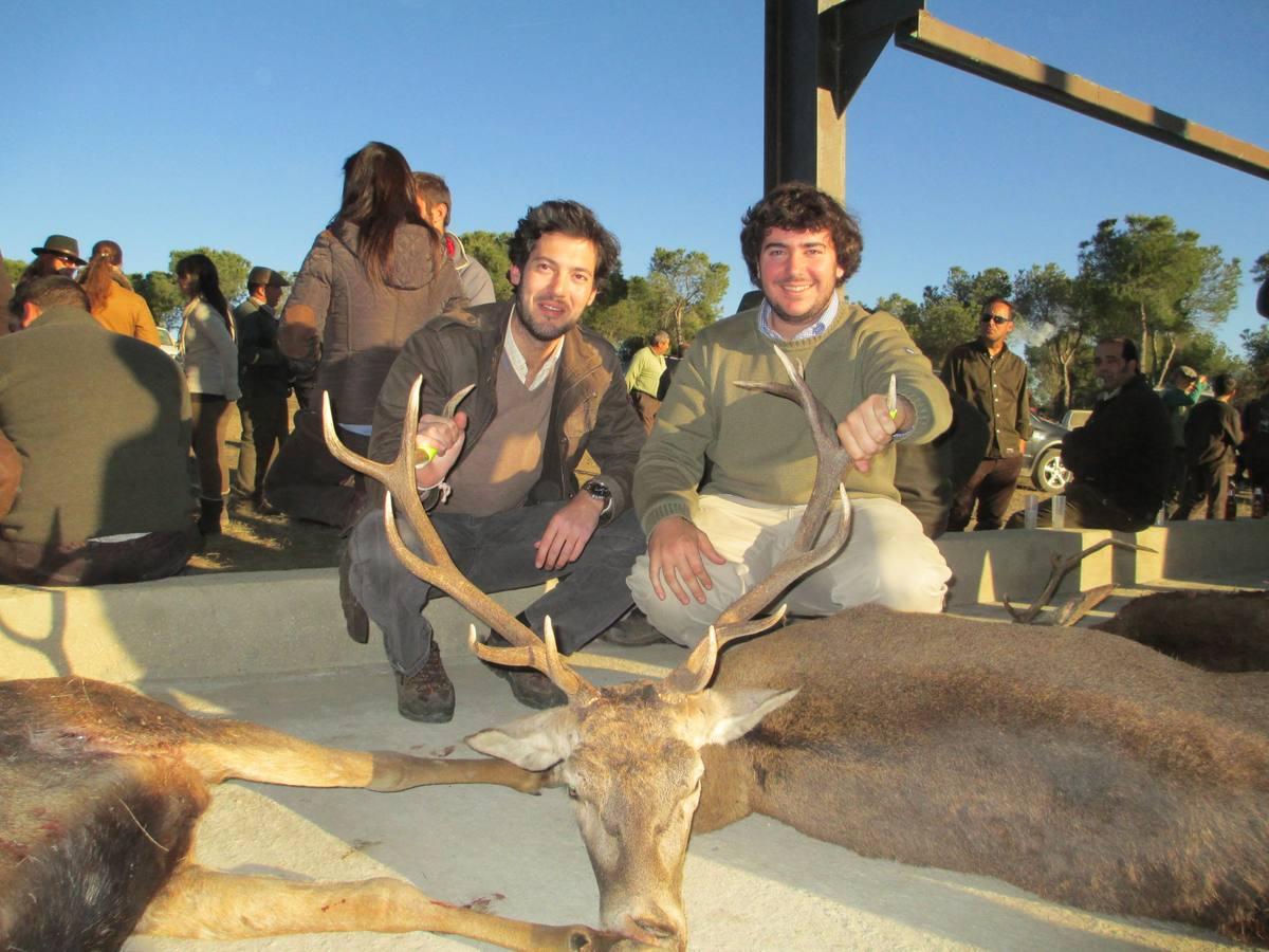 500 cazadores participan en la gran cacería de Azuaga