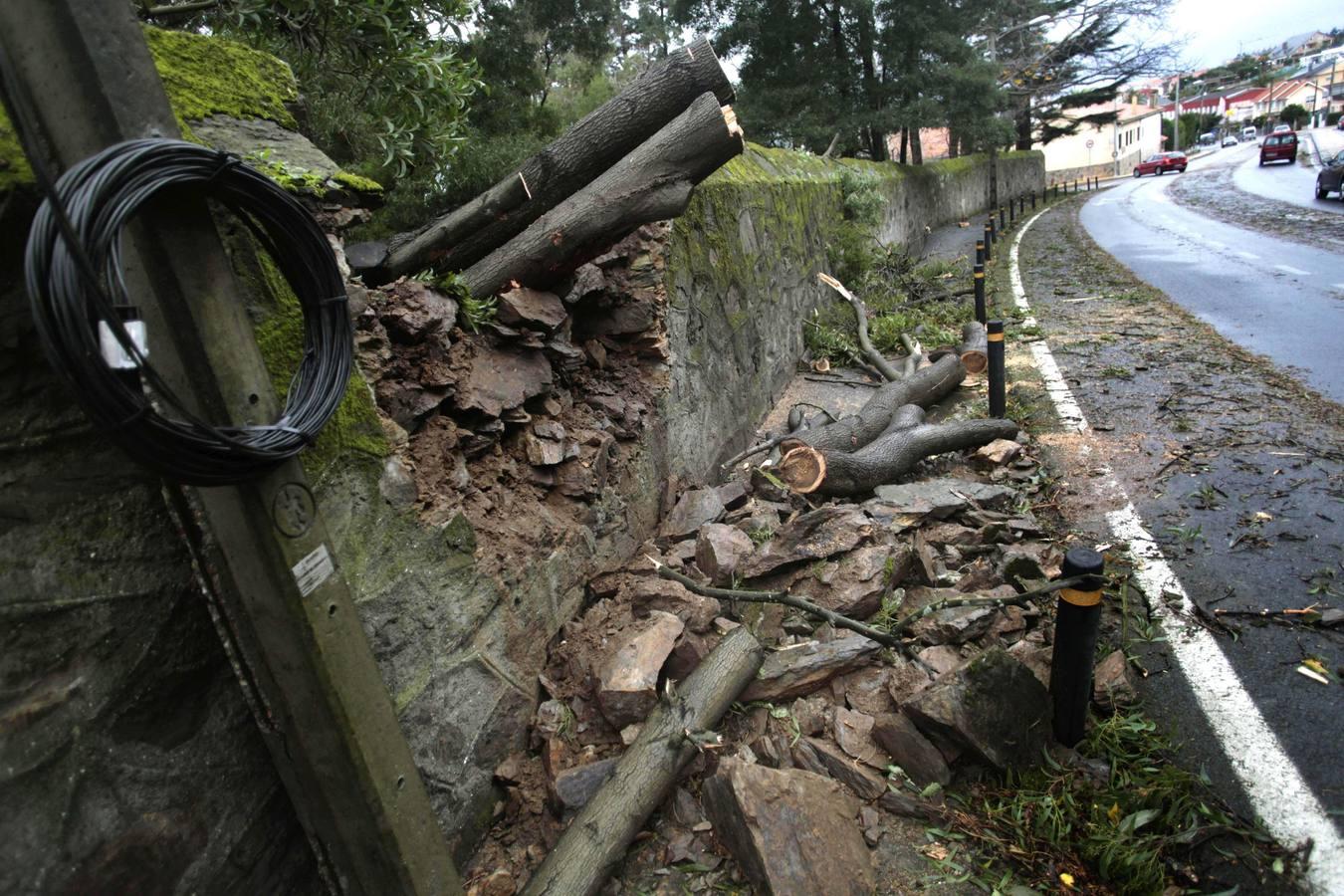 Un fuerte temporal barre España en Navidad