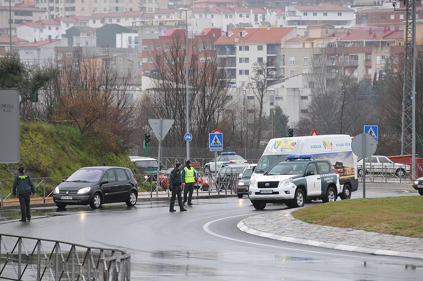 Muere el presunto asesino en Plasencia durante su detención