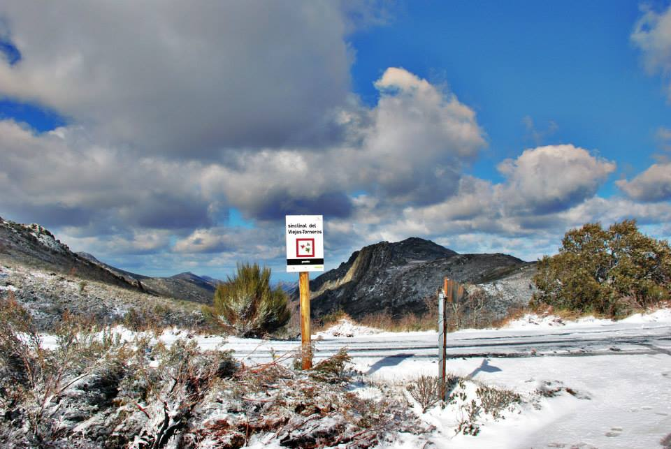 Tercera nevada del año en Las Villuercas