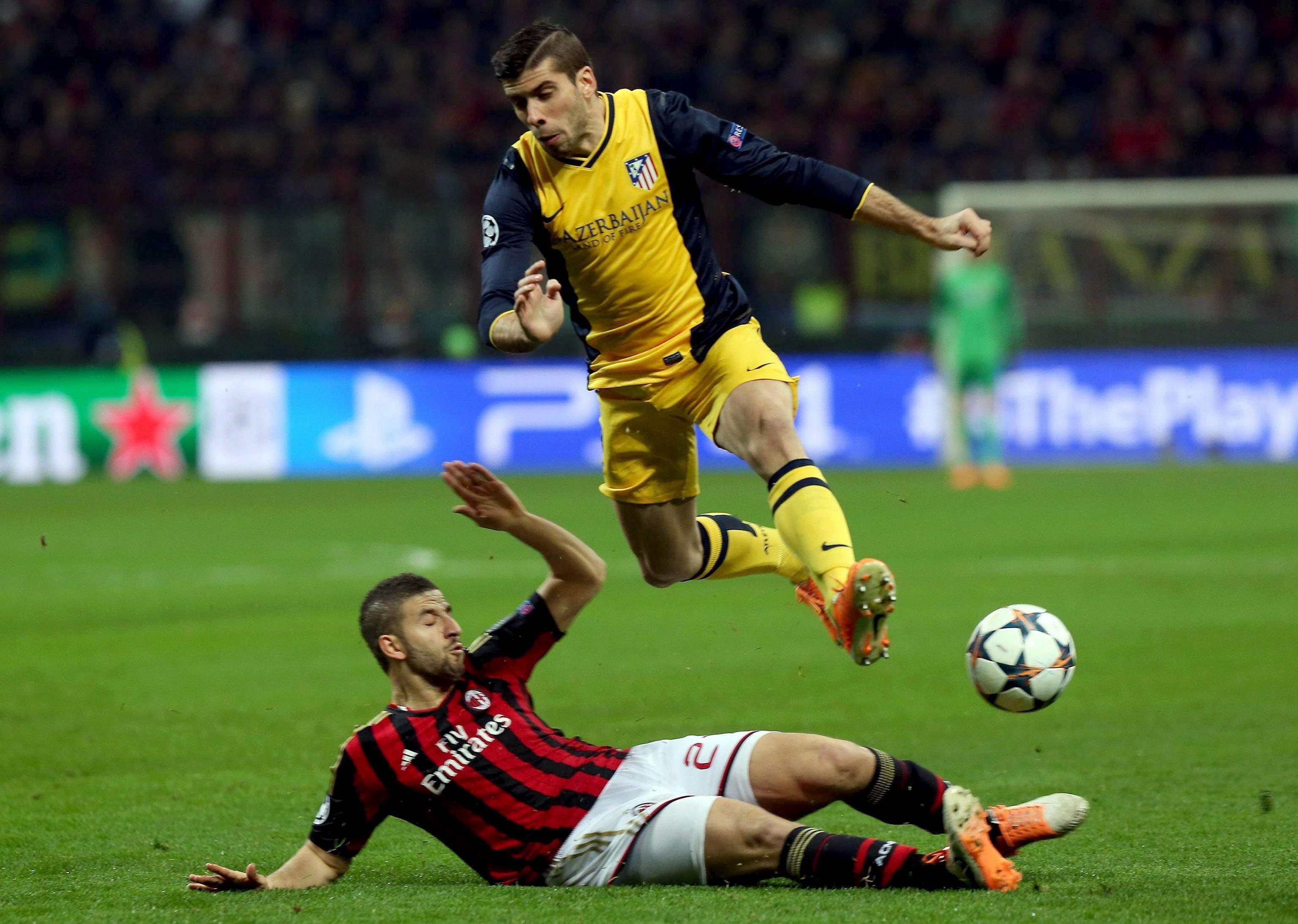 Milan-Atlético, ida de octavos de final de la Liga de Campeones