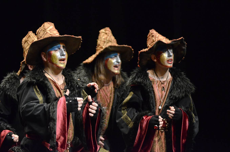 Lunes de semifinales del concurso de Murgas de Badajoz 2014