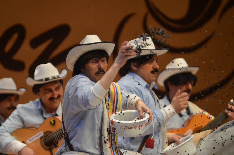 Final del concurso de murgas de Badajoz 2014
