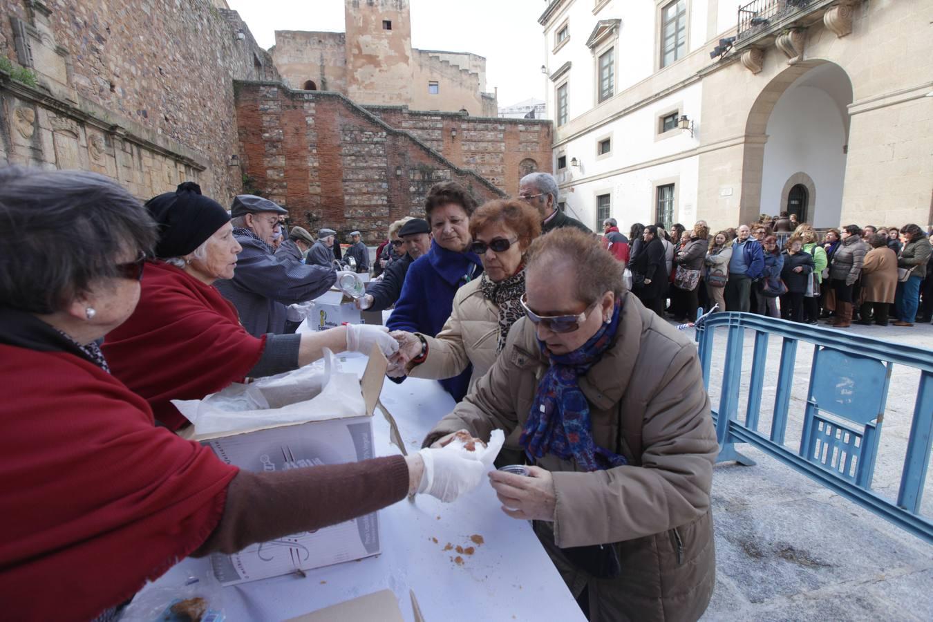 Cáceres celebra la fiesta de las Lavanderas