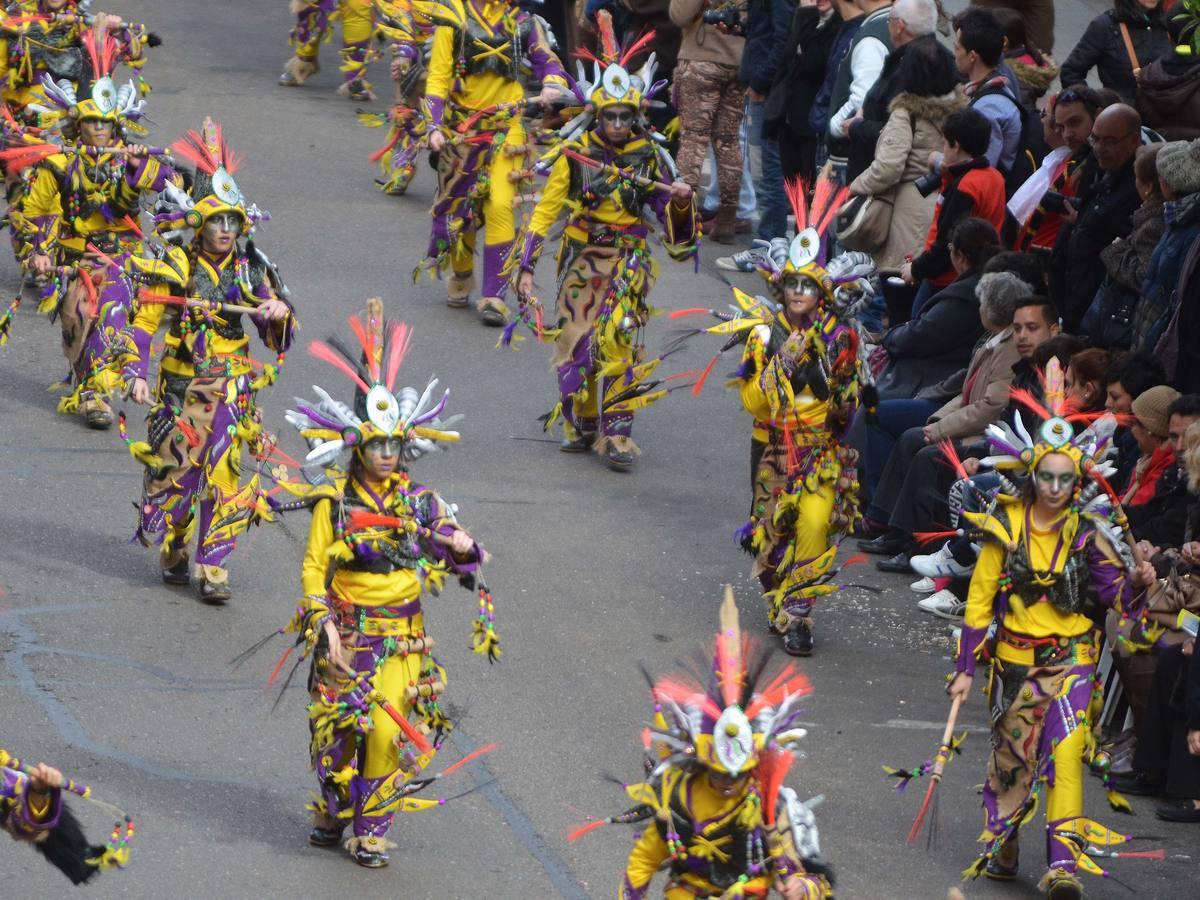 Desfile de comparsas de Badajoz 2014 (I)