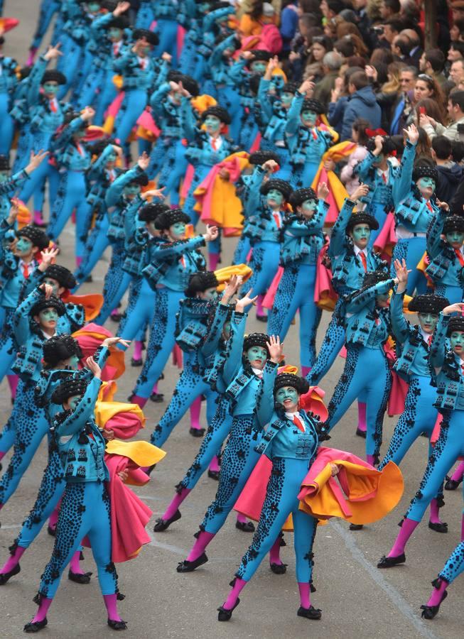 Desfile de comparsas de Badajoz 2014 (II)