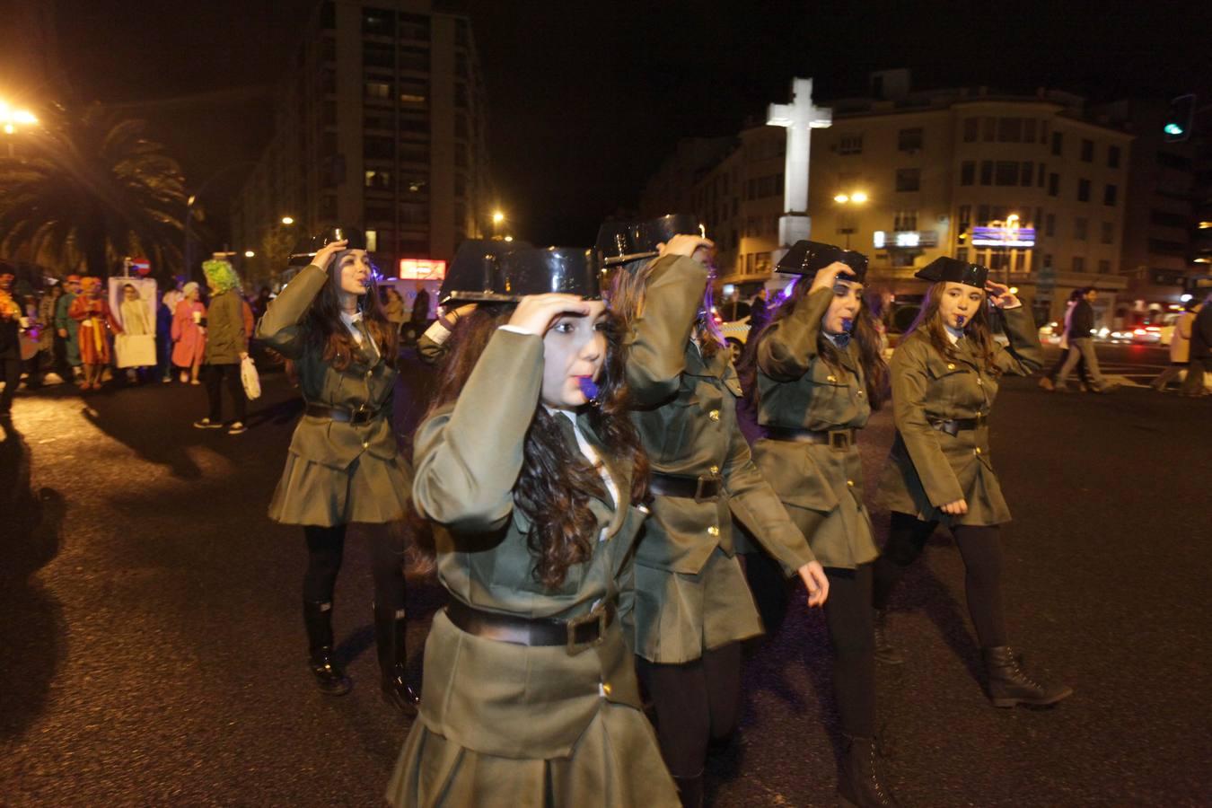 Las mejores imágenes del desfile de Carnaval en Cáceres