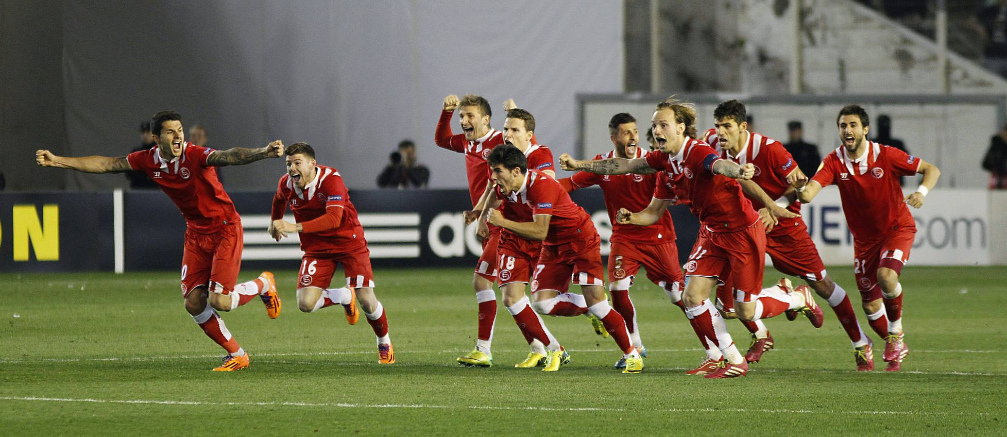El Sevilla se lleva el euroderbi