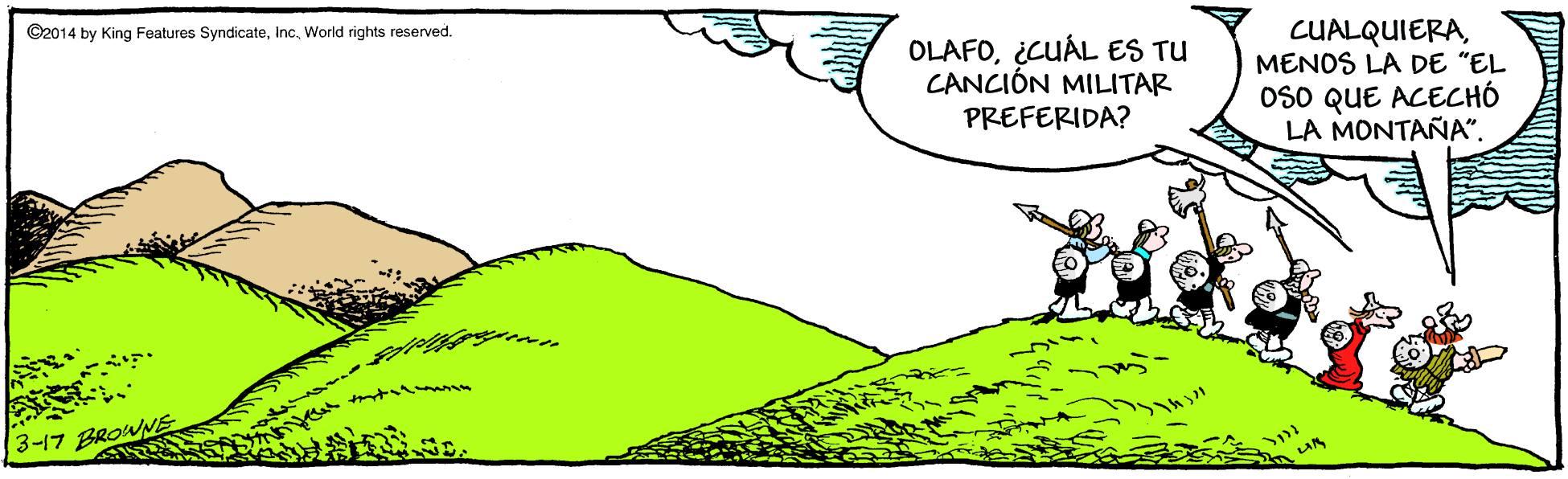 Las viñetas de Olaf, en HOY.es