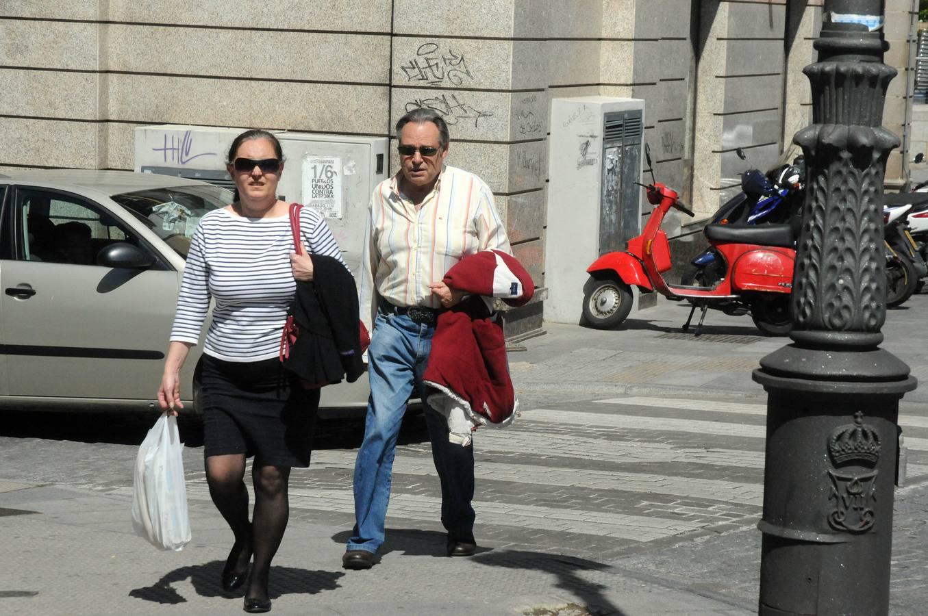 Altas temperaturas en Extremadura