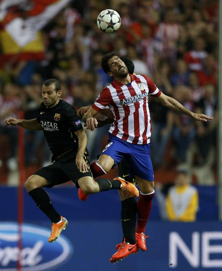 Atlético de Madrid - Barcelona, en imágenes